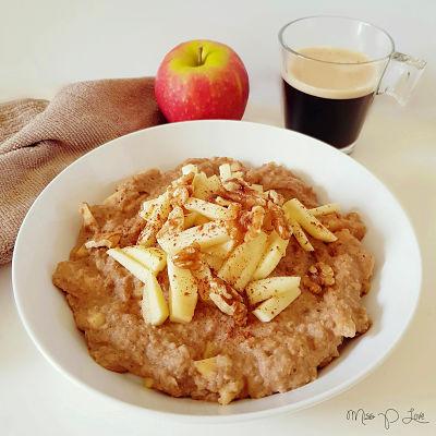 Boekweit appeltaart style Healthy Lunch dessert Breakfast coffee