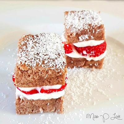 Banana bread party skyr strawberry Healthy Lunch dessert Breakfast