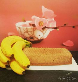 Bananabread flowers cake banana Healthy Lunch dessert Breakfast