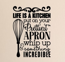 life is a kitchen
