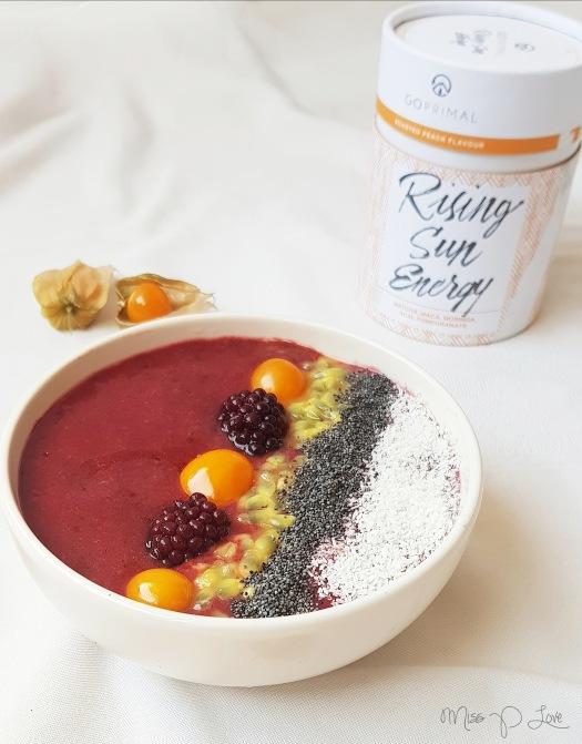 Raspberry smoothiebowl